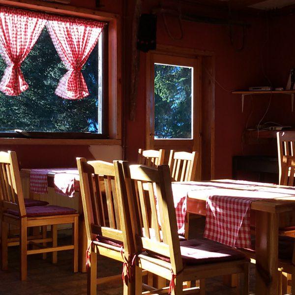 Unutrašnjost restorana Ogorjelice