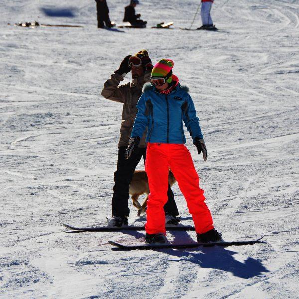 Uživanje na skijaškoj stazi