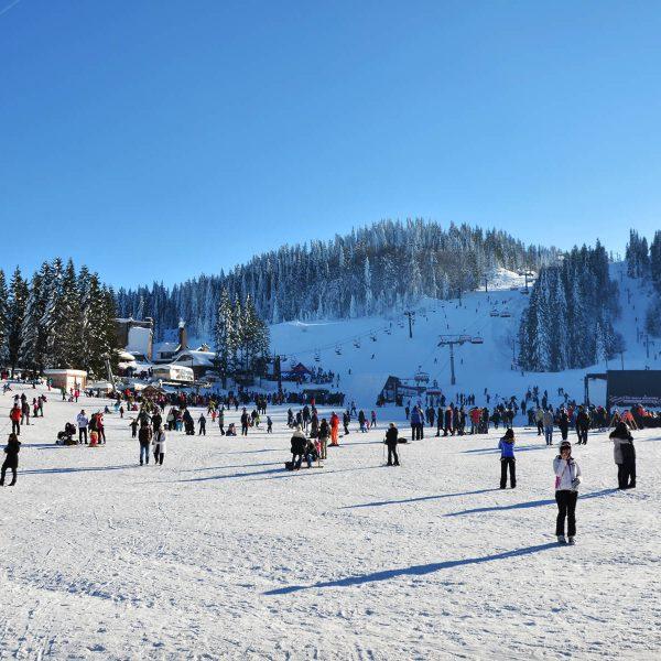 U podnožju skijaške staze
