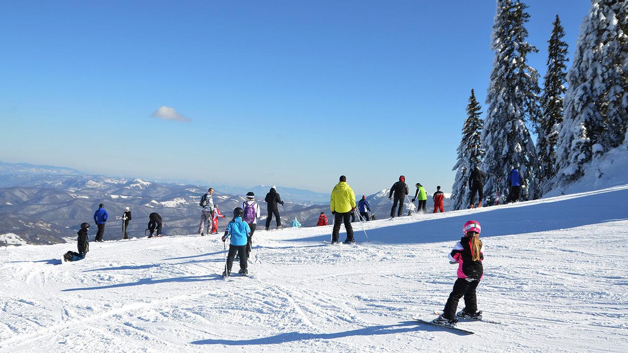 Naša škola skijanja na Jahorini
